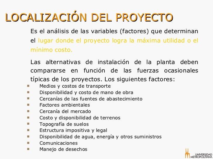 Comercio internacional proyecto de inversi n for Factores para seleccionar el terreno para el vivero