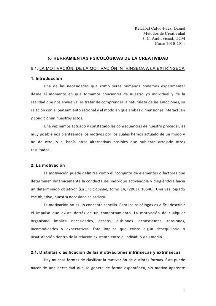 Reizábal Calvo-Fdez, Daniel                                                                  Métodos de Creatividad       ...