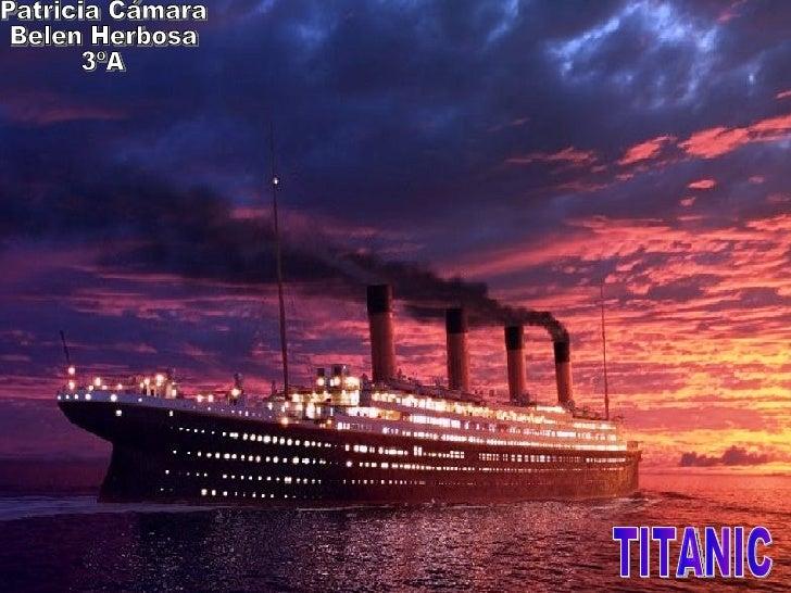 ¿Cuál es el nombre completo del    Titanic? y ¿Qué buques eran gemelos?Respuesta:•   El nombre completo del Titanic era Ro...