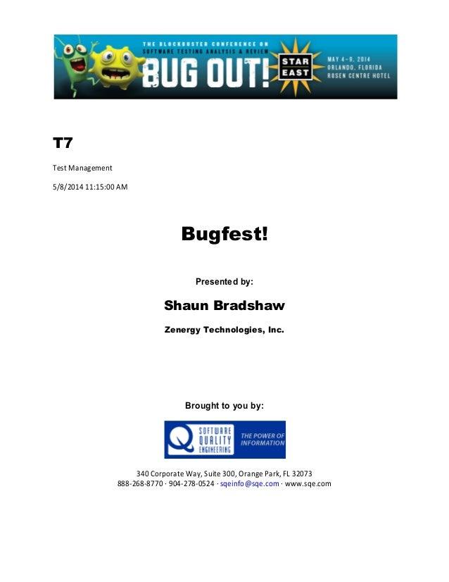 Bugfest!