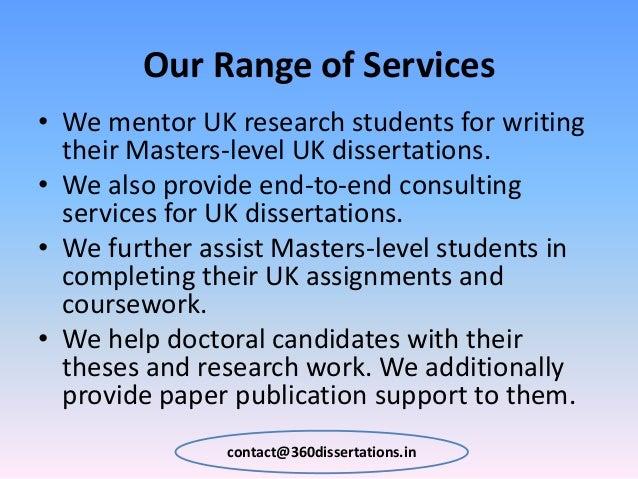 thesis help uk
