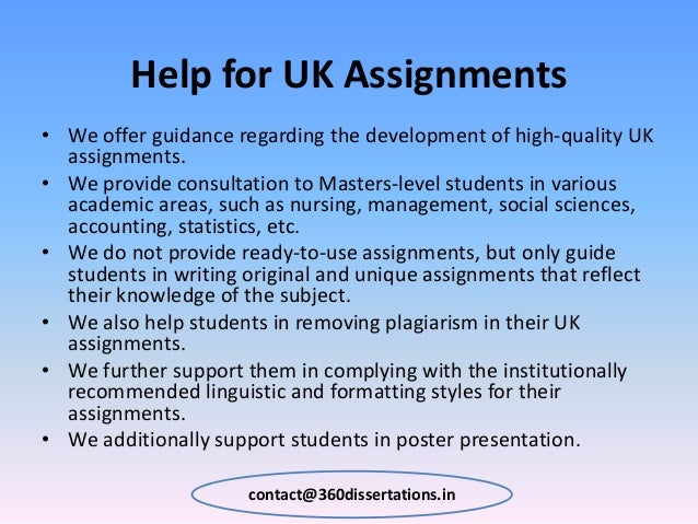 Dissertation Help UK & Writing Services | Done Dissertation