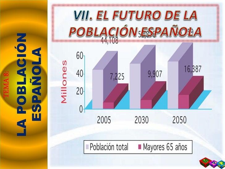 T8 vii. el futuro de la población española