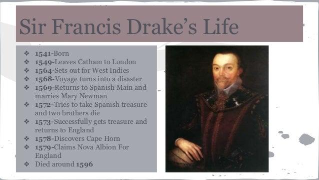Sir francis drake presentation for Fun facts about drake