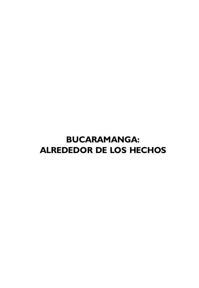 BUCARAMANGA:ALREDEDOR DE LOS HECHOS