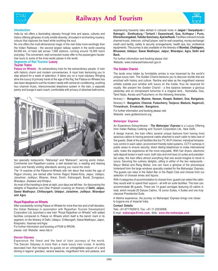indian railways Trains at a glance 2012