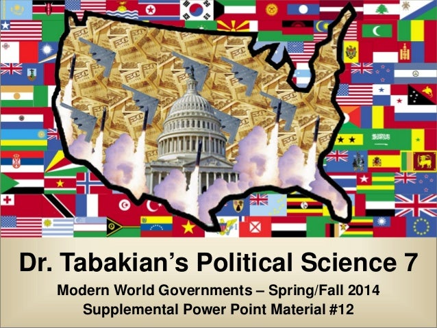 Tabakian Pols 7 Fall/Spring 2014 Power 12