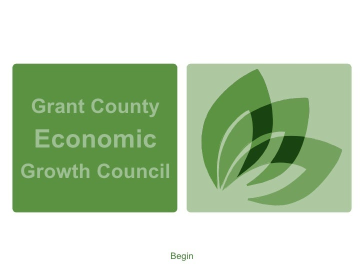 Grant County Economic Growth Council Begin