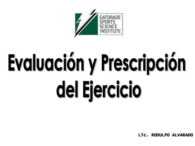 Lic. RODULFO ALVARADO