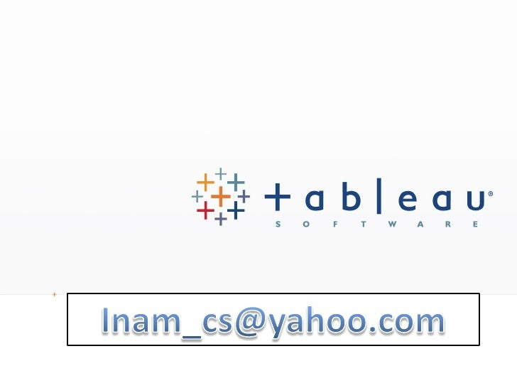 All rights reserved. © 2008 Tableau Software Inc.