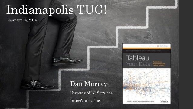 Indianapolis TUG! January 14, 2014  Dan Murray Director of BI Services InterWorks, Inc.