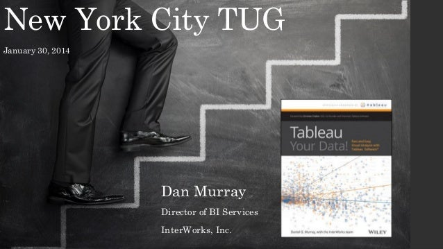 New York City TUG January 30, 2014  Dan Murray Director of BI Services InterWorks, Inc.