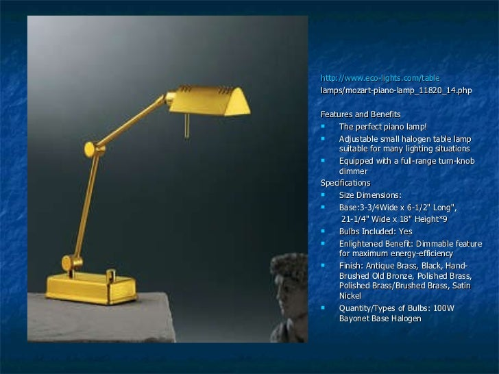 Table Lamps Product Analysis