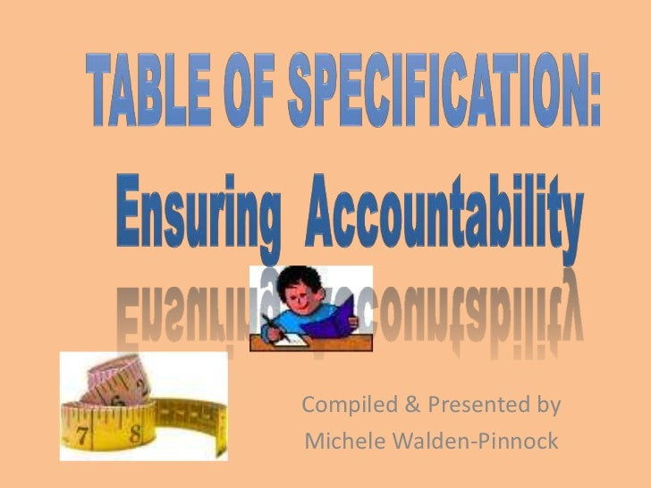 Compiled & Presented byMichele Walden-Pinnock