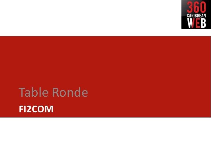 Table RondeFI2COM