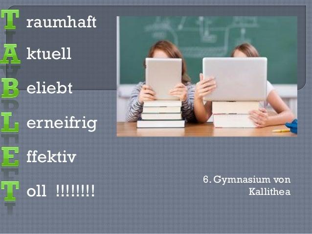 ktuell eliebt erneifrig ffektiv oll !!!!!!!! raumhaft 6. Gymnasium von Kallithea
