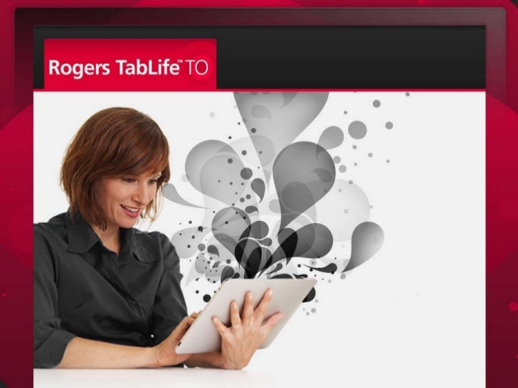 Rogers Tablet Touchpoint 2010