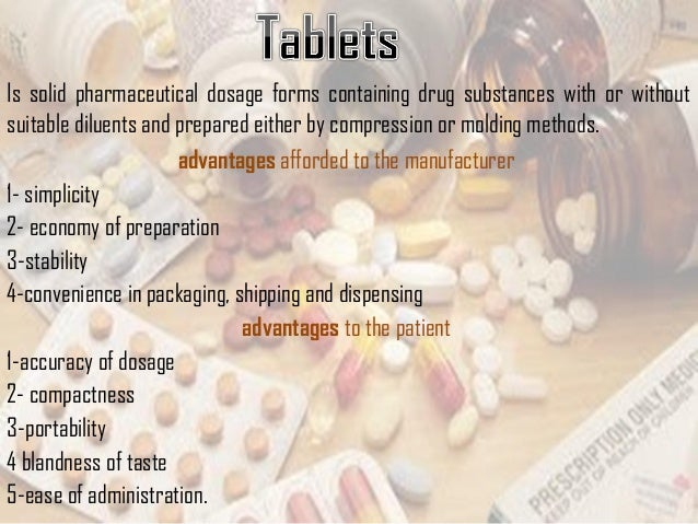Is solid pharmaceutical dosage forms containing drug substances with or without suitable diluents and prepared either by c...
