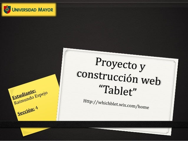 """ObjetivoEntender de un mejor manera el concepto de """"Tablet"""", conocer susprincipales componentes, ventajas y limitantes. Pa..."""
