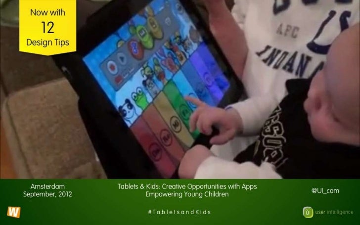 Tablets and Kids: Now with 12 Design Tips!