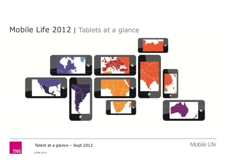 Mobile Life 2012 | Tablets at a glance       Tablet at a glance – Sept 2012       ©TNS 2012