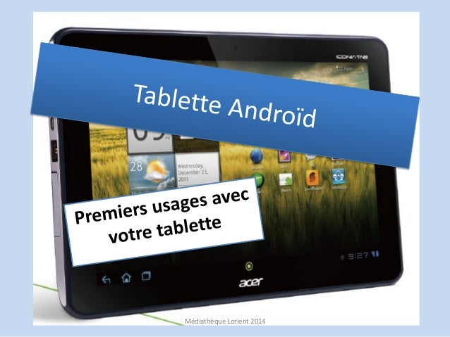 Tablette.Android 2014