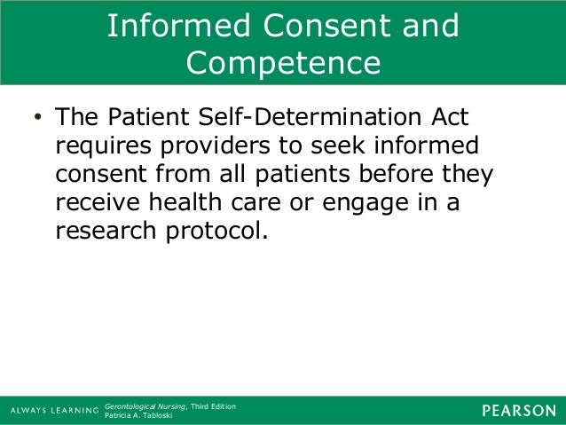 accountability of professional nurses informed consent An important role of nurses accountability nursing essay king's college (2008) defines 'high quality of care' as the way care should be delivered to the.