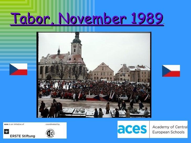 Tabor V Listopadu 89 In English