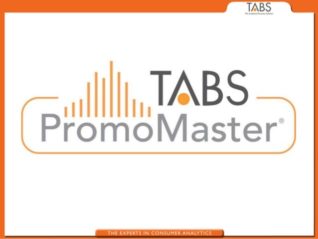 Trade Promotion Optimization Requirements                                                                  TABS           ...