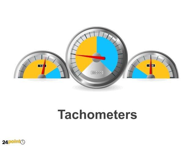 Tachometers Diagram - PowerPoint Slide