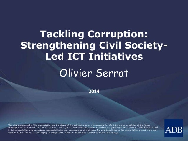 Tackling Corruption: Strengthening Civil Society-Led ICT Initiatives