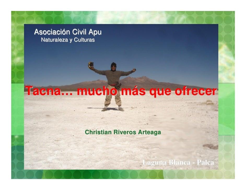 Tacna, turismo,