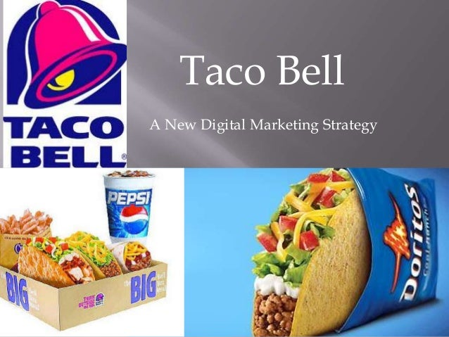 A new digital strategy for Taco Bell-Transforming Taco Bell into THE industry leader