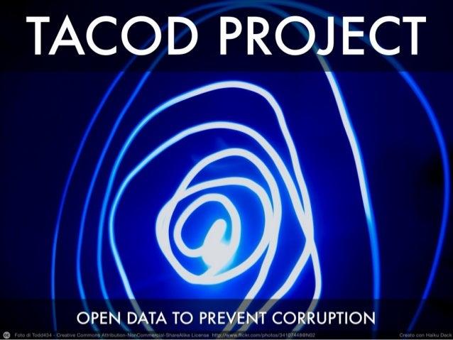 Tacod Project by Lorenzo Segato