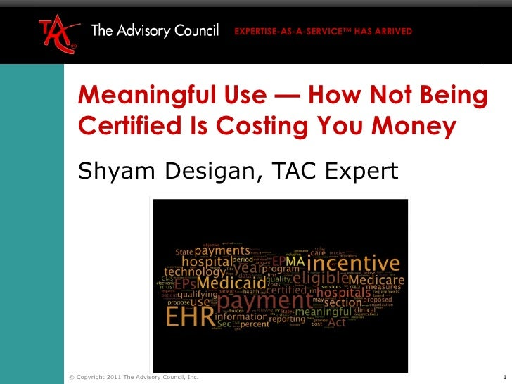 Tac teleconf meaningful use 2011 01-11