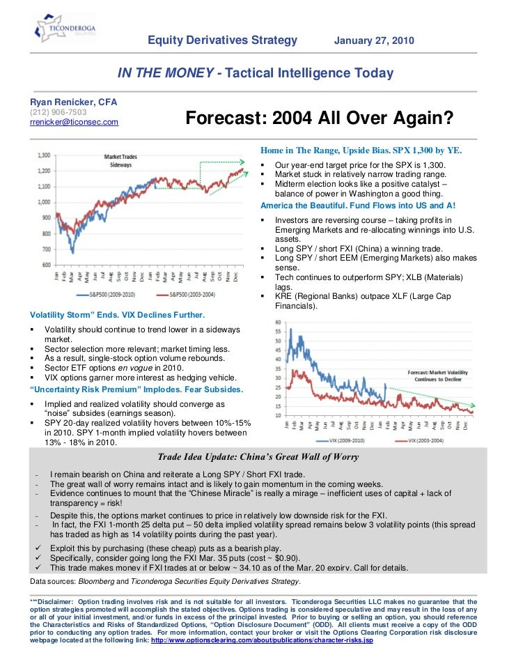 2010 Stock Market Forecast - Go Long the USA