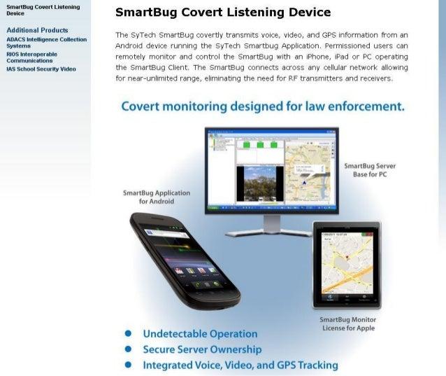 SmartBug Covert Listening Device
