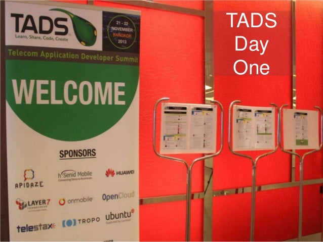 Telecom Application Developer Summit Day One Photo Review