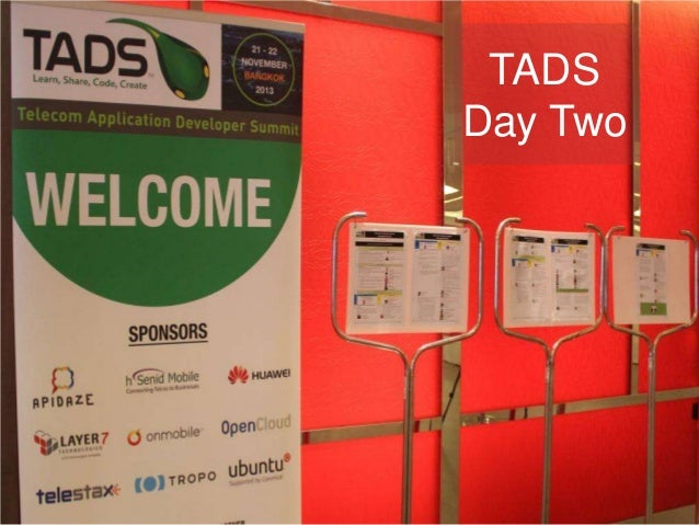 Telecom Application Developer Summit Day Two Photo Review