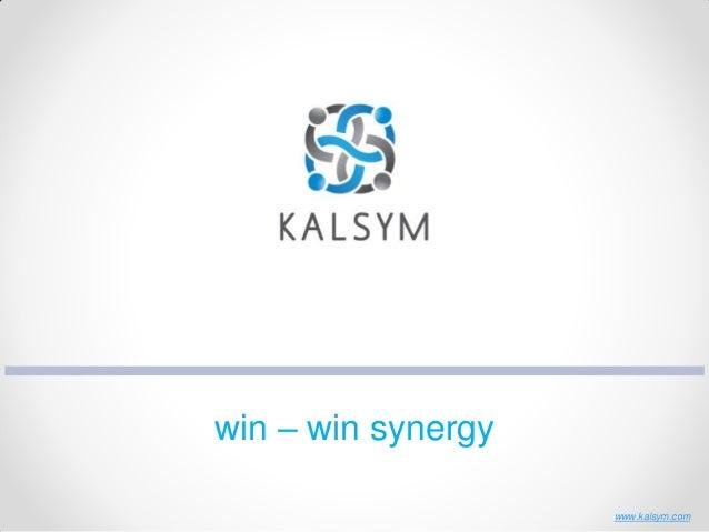 win – win synergy www.kalsym.com