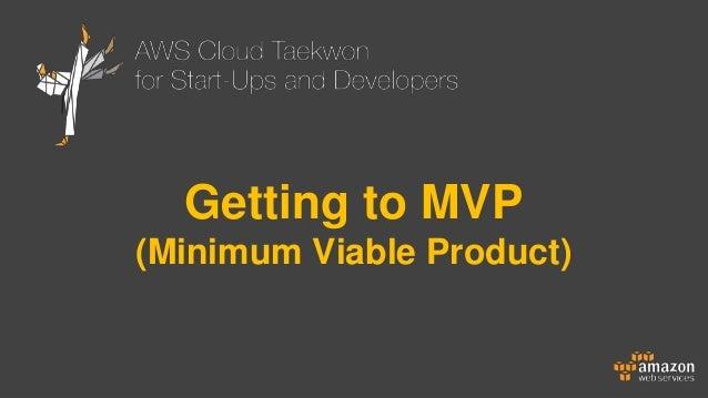 사업계획서는 이제 그만, 지금은 MVP 개발이 대세!