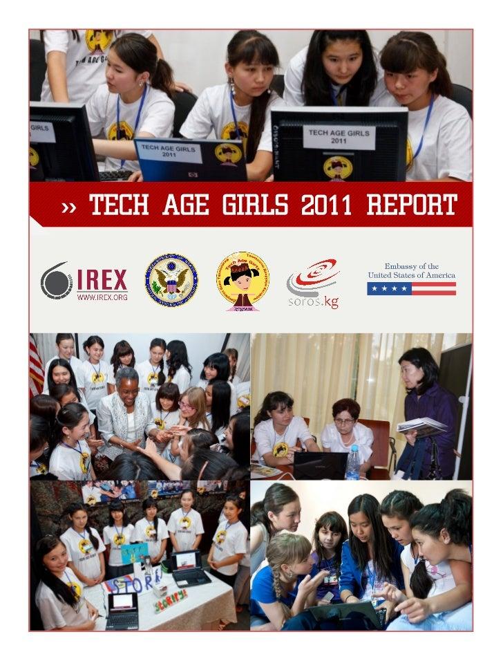 >> TECH AGE GIRLS 2011 REPORT