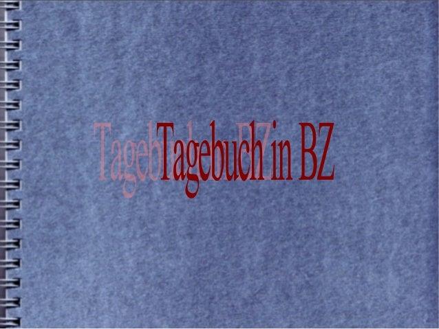 Tagebuch in bz(2)