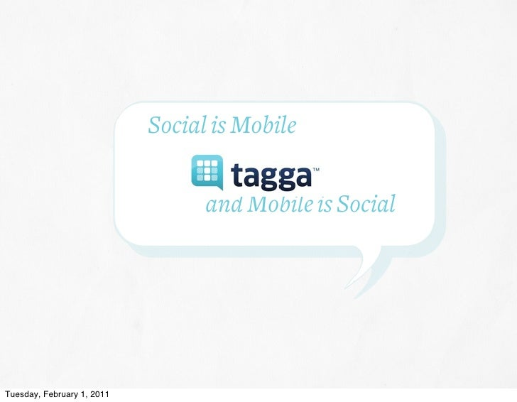 Tagga social+mobile