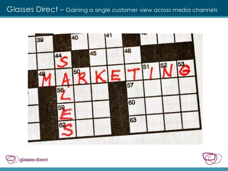 Glasses Direct – Gaining a single customer view across media channels                                                     ...
