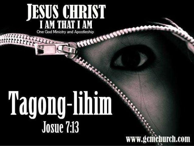 """Josue 7:13 """"Tumayo ka at sabihin mo sa bayan na maghanda sila bukas sa pagharap sa akin, sapagkat ako ang Diyos, ang Diyos..."""