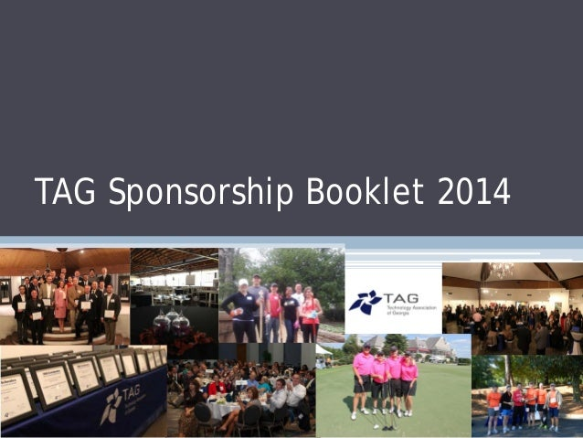 TAG Sponsorship Booklet 2014