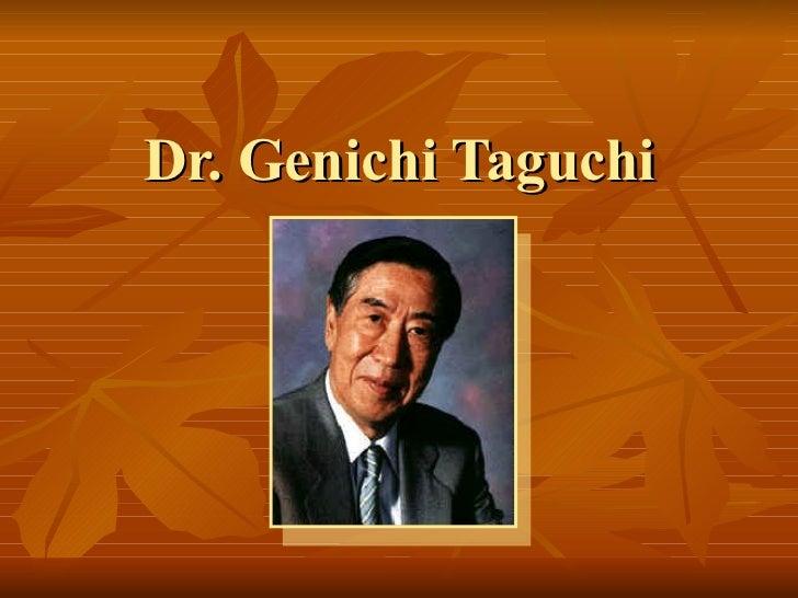 Taguchi Ing En Calidad