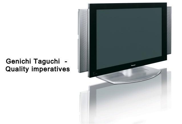 Taguchi quality guru