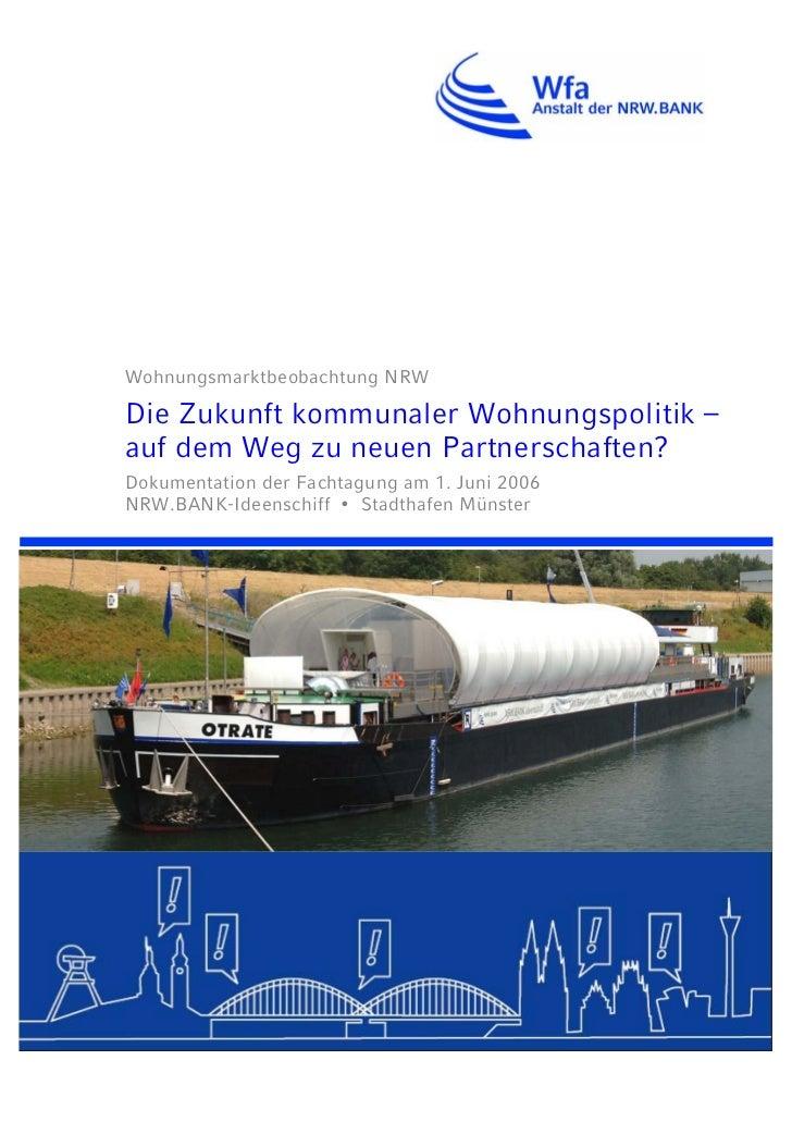 Tagungsdokumentation Kommunale-Wohnungspolitik 2006